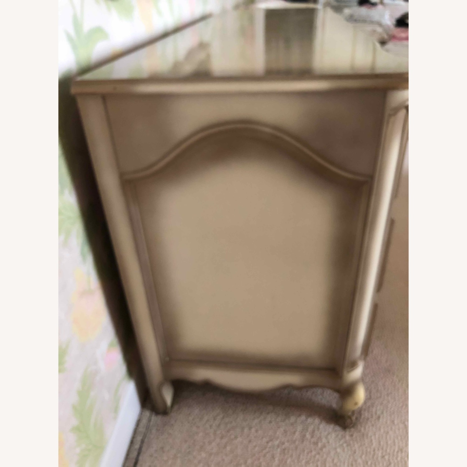 French Provincial Dresser and Matching Mirror - image-3