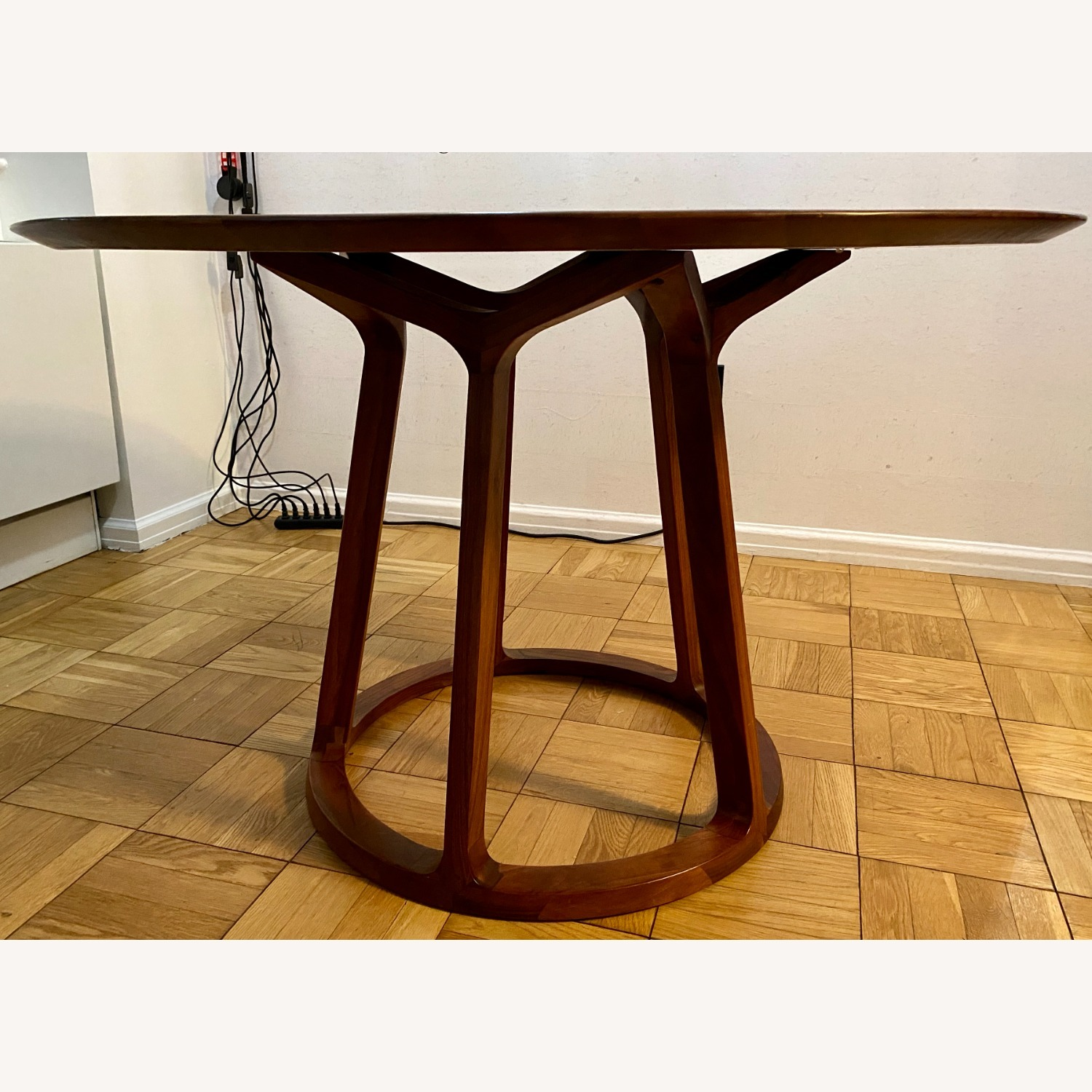 Rejuvenation Wood Modern Round Dining Table - image-2