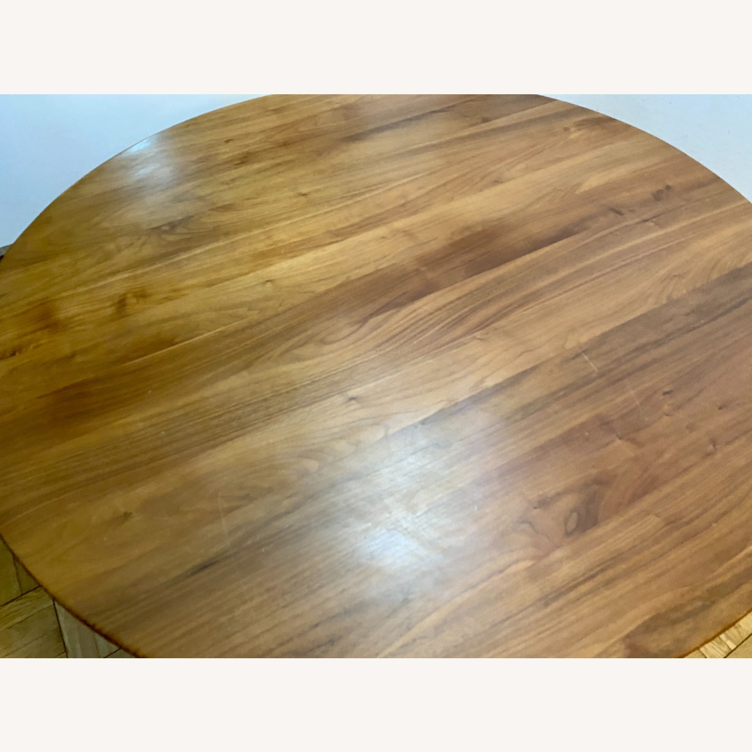 Rejuvenation Wood Modern Round Dining Table - image-6