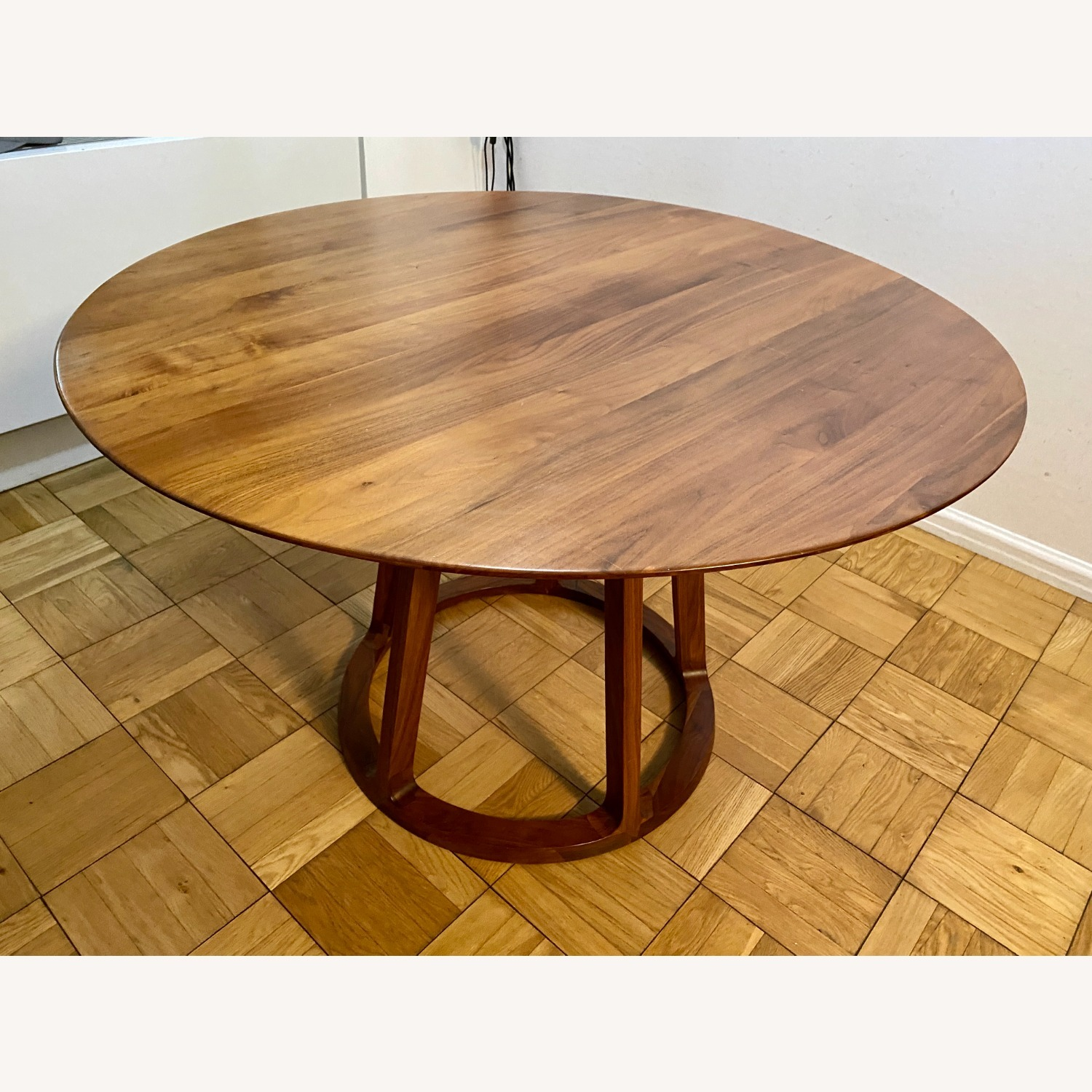 Rejuvenation Wood Modern Round Dining Table - image-1