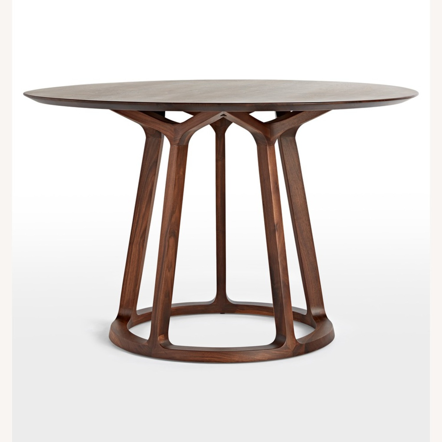Rejuvenation Wood Modern Round Dining Table - image-5