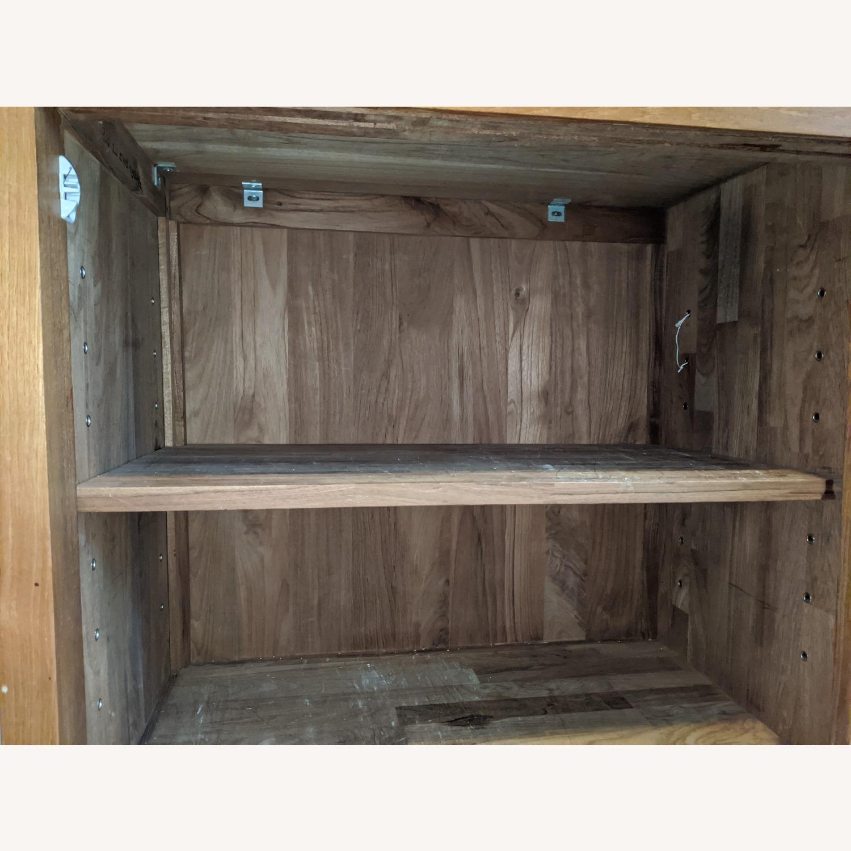 Crate & Barrel Teak Buffet - image-9