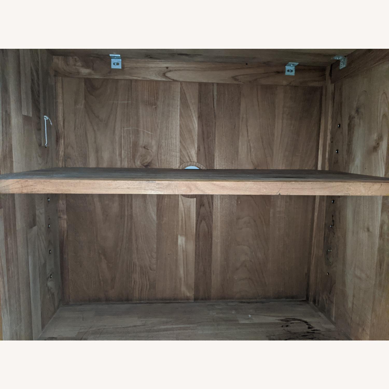 Crate & Barrel Teak Buffet - image-7