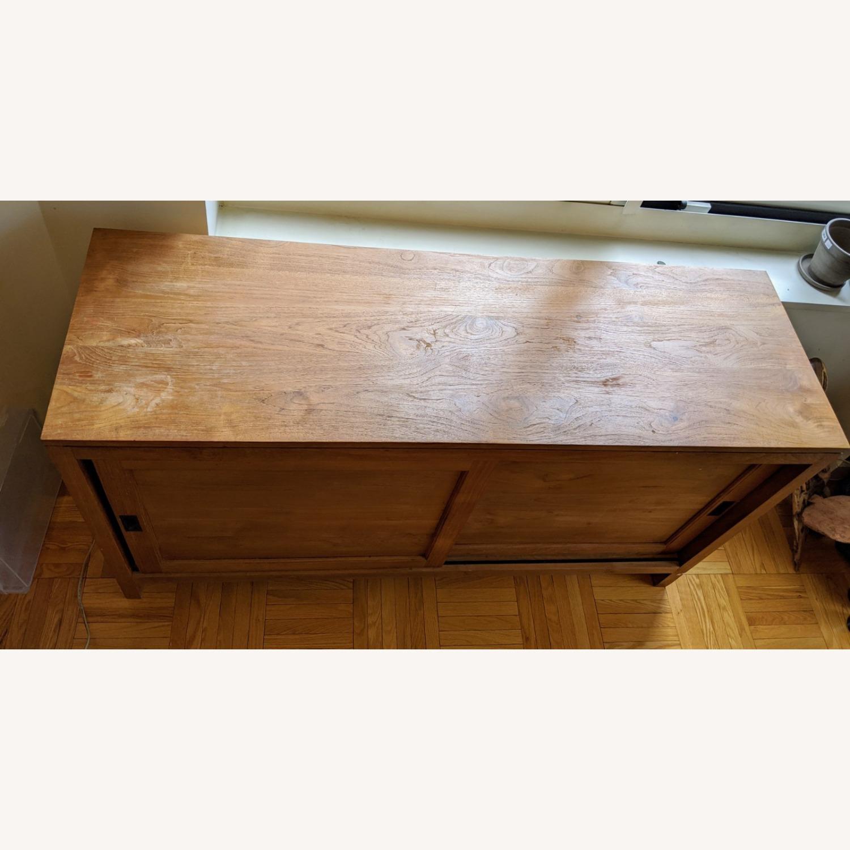 Crate & Barrel Teak Buffet - image-4