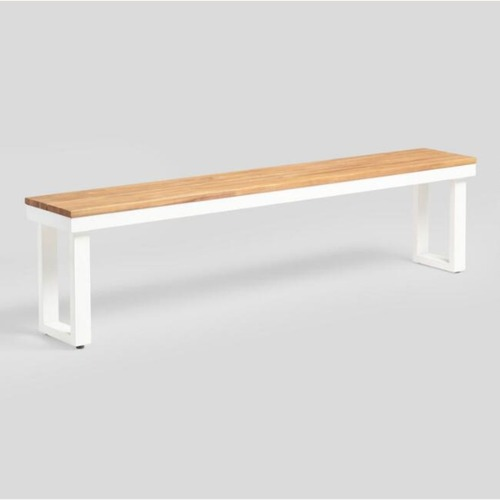Used World Market Outdoor Dining Bench for sale on AptDeco