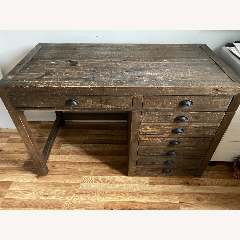 Restoration Hardware Printmakers Desk - image-4