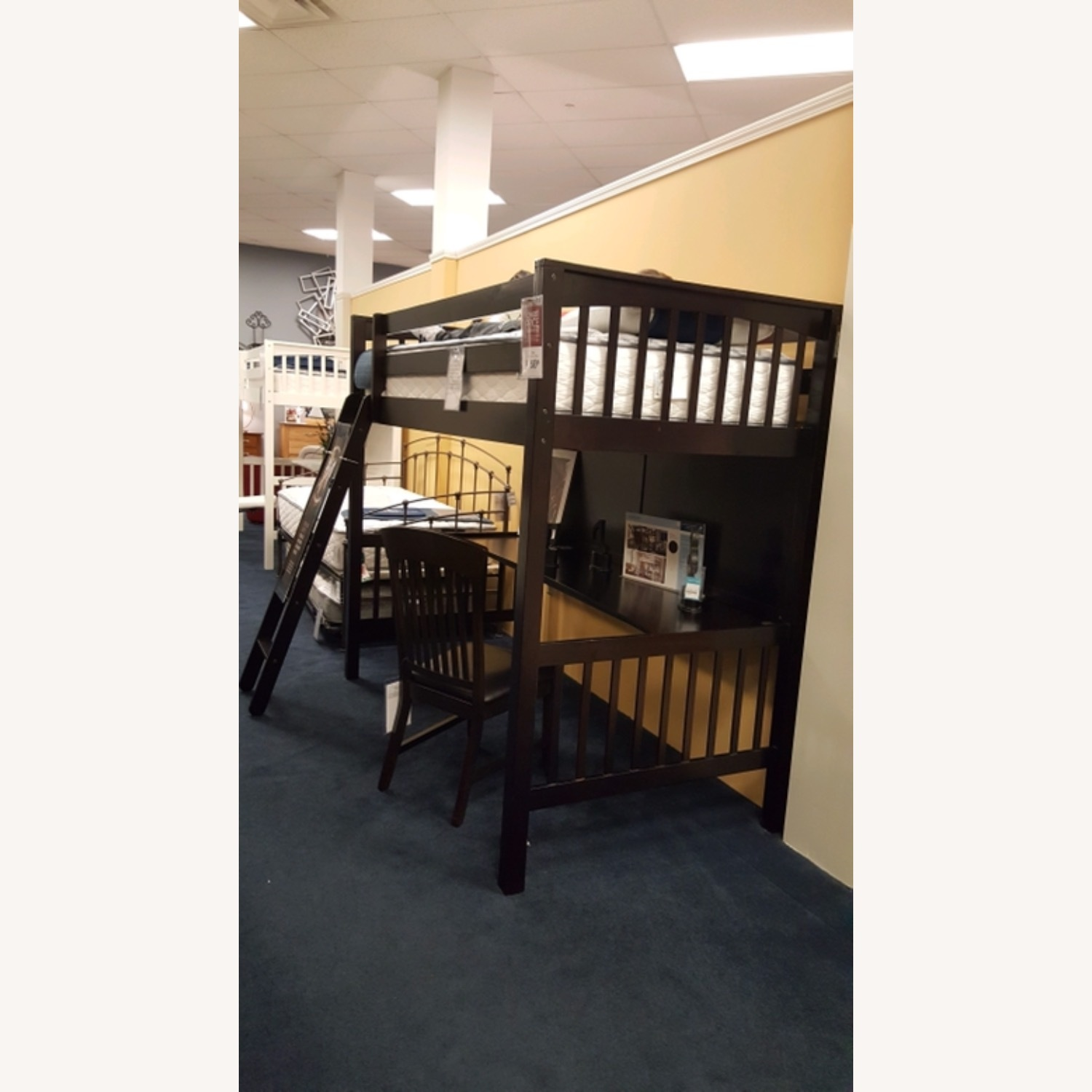 Jordan Loft Bed with Desk - image-2