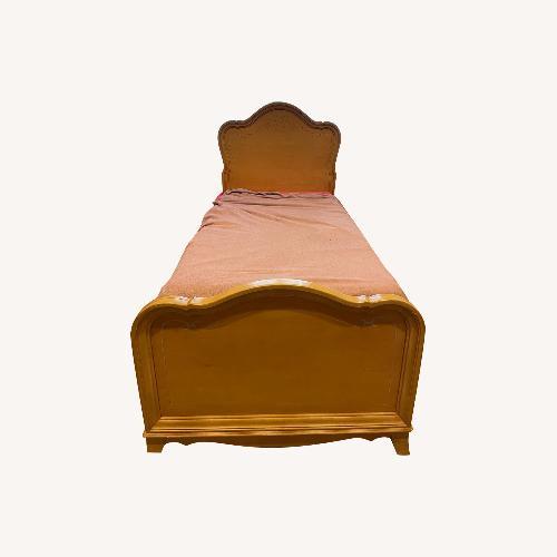 Used Jessica McClintock Twin Bed for sale on AptDeco