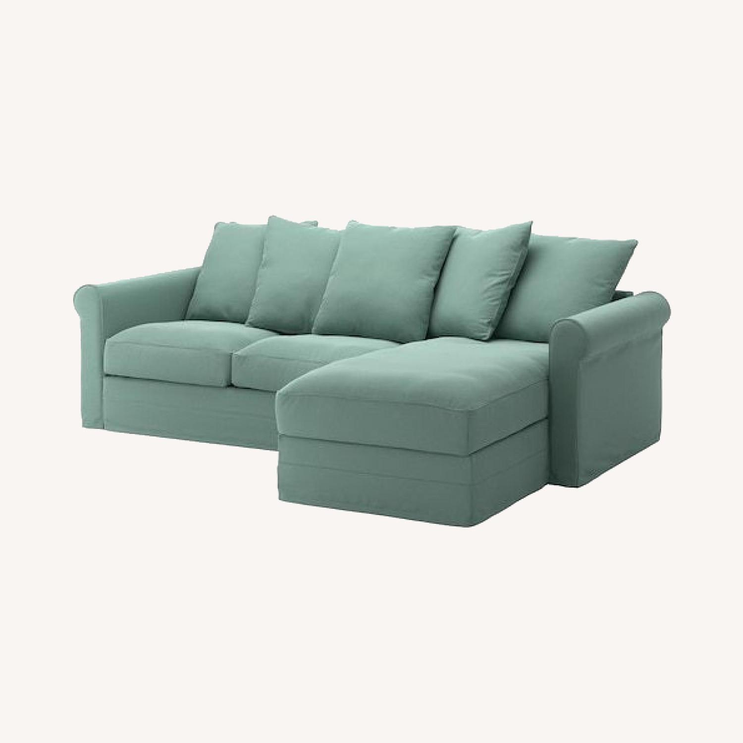 IKEA HOLMSUND Sleeper Sectional - image-0