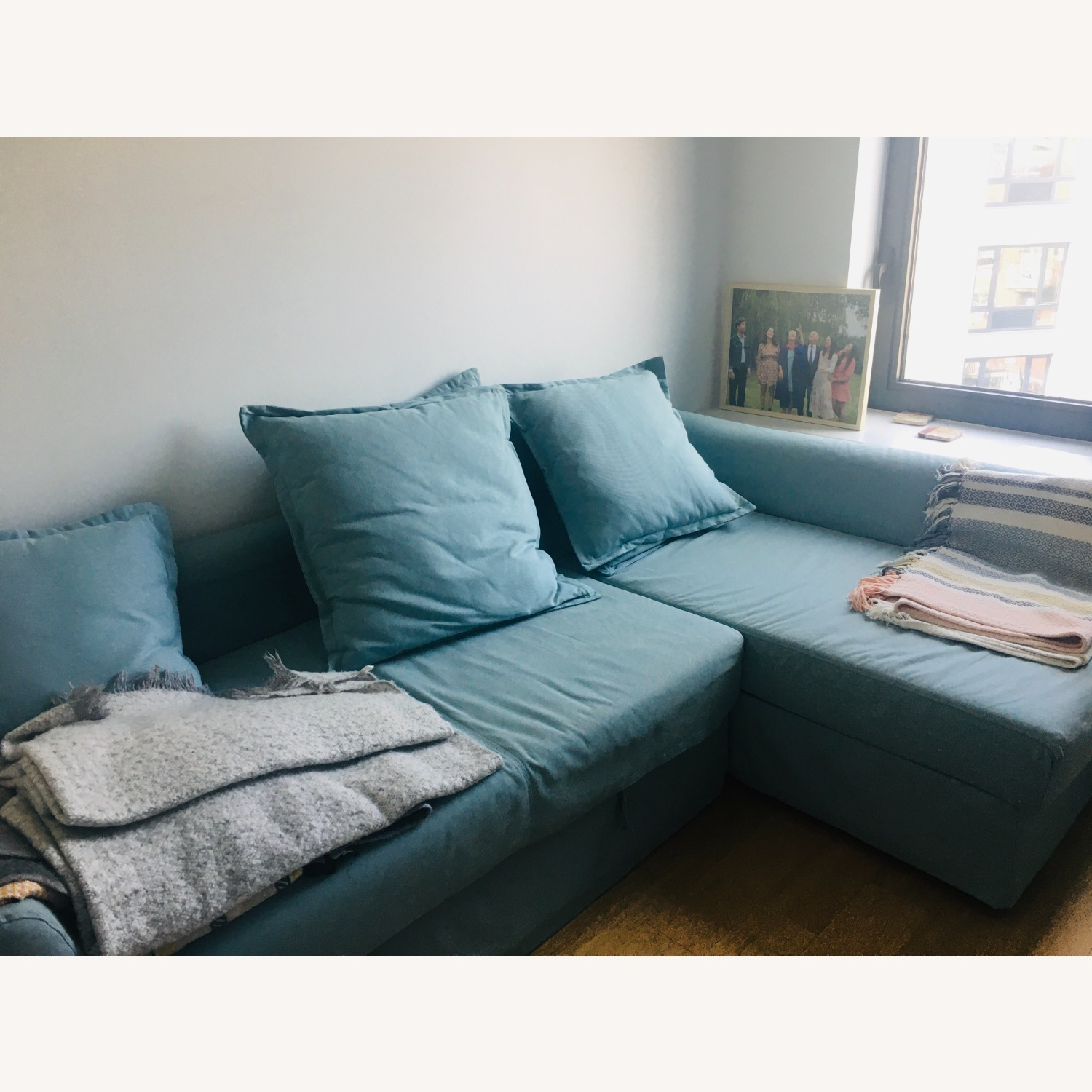 IKEA HOLMSUND Sleeper Sectional - image-1
