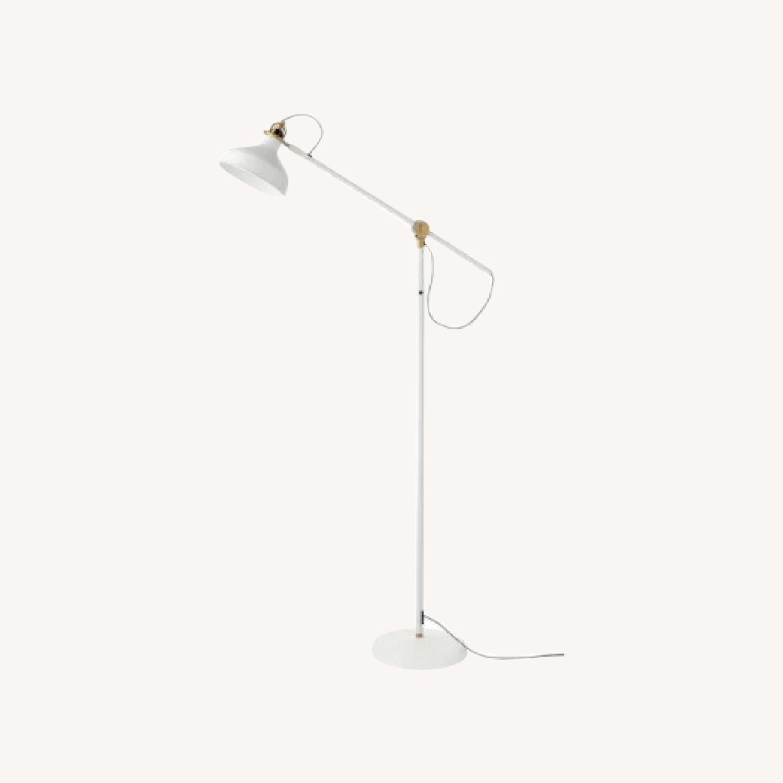 IKEA Floor Reading Lamp, Off White - image-0
