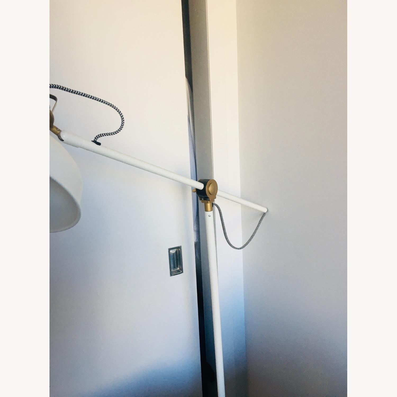 IKEA Floor Reading Lamp, Off White - image-1