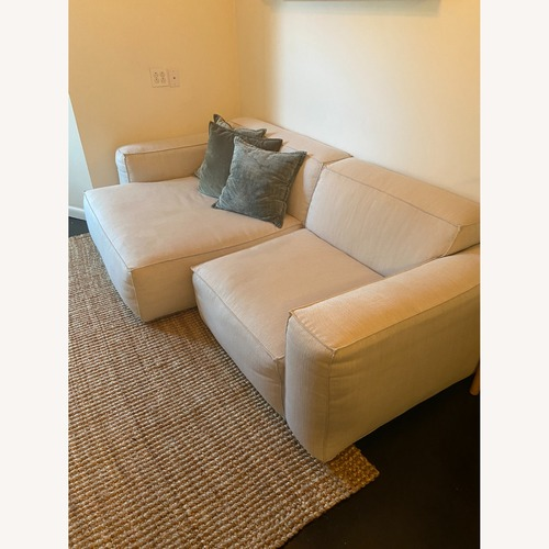 Used Article White Solae Sofa for sale on AptDeco