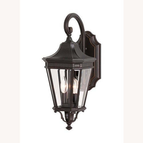 Used Feiss OL5401GBZ Outdoor Sconce for sale on AptDeco