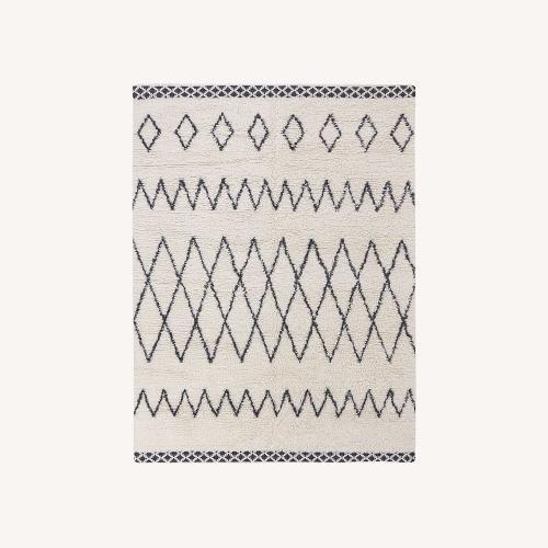 Used West Elm Kasbah Wool Rug for sale on AptDeco