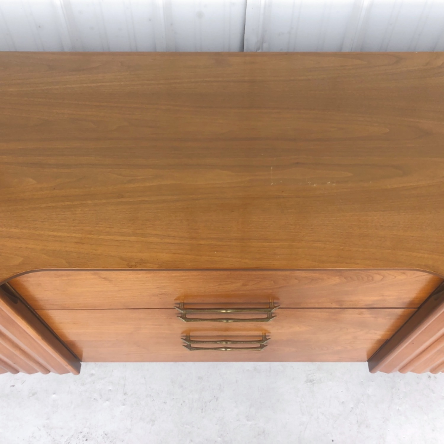Mid-Century Modern Sideboard With Display Topper - image-19