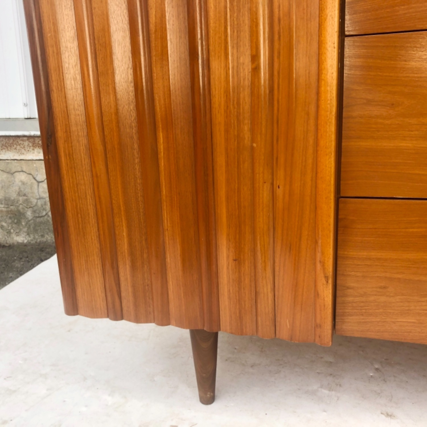 Mid-Century Modern Sideboard With Display Topper - image-12