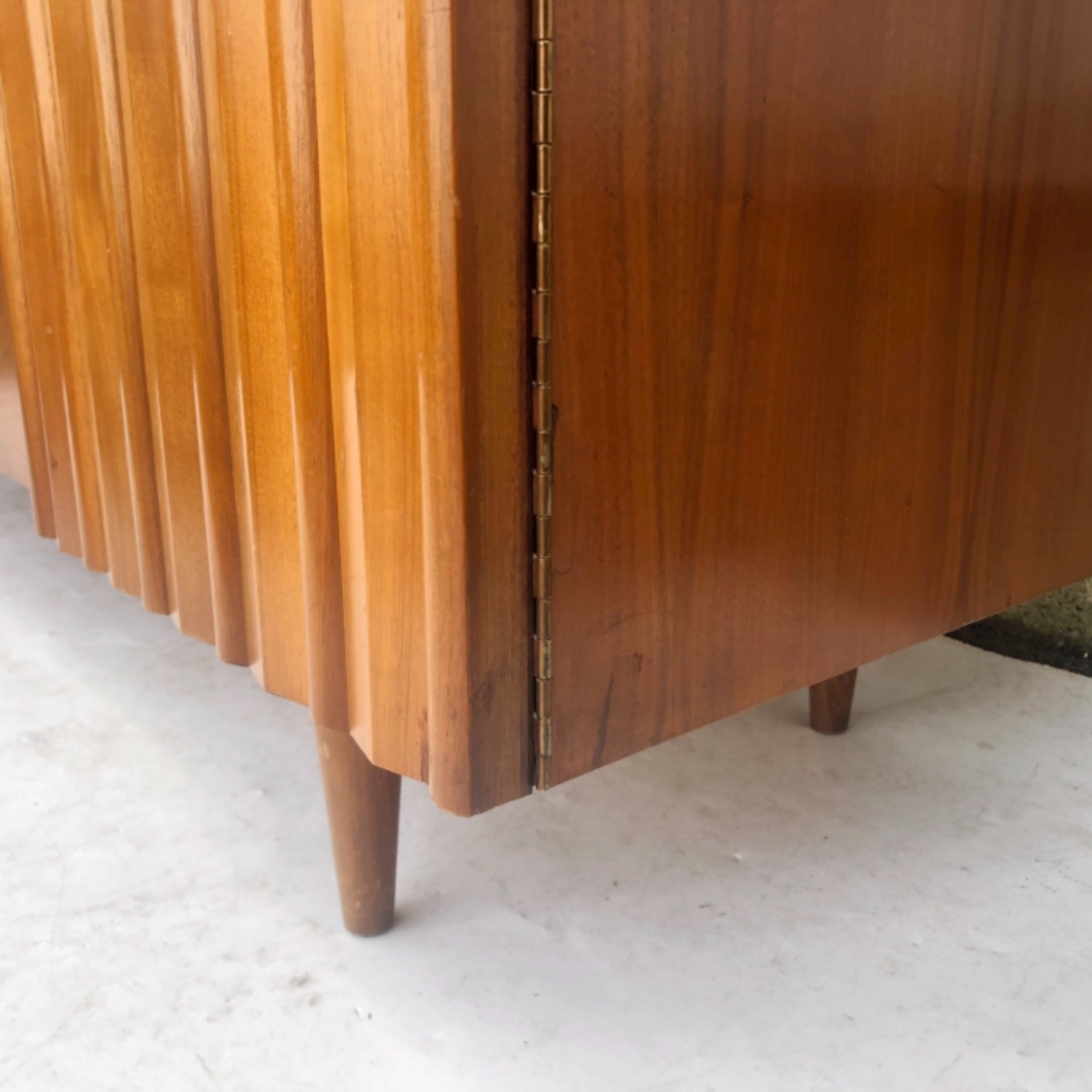 Mid-Century Modern Sideboard With Display Topper - image-11