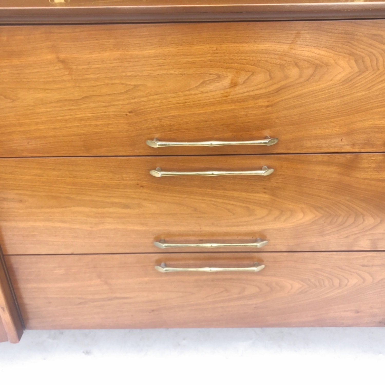 Mid-Century Modern Sideboard With Display Topper - image-24