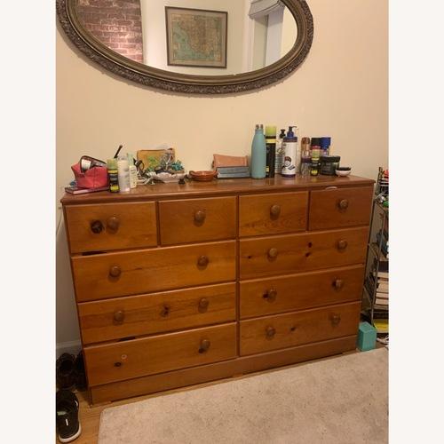 Used Vintage Natural Wood Dresser for sale on AptDeco