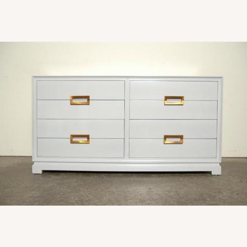 Used Modern Mid Century 8 Drawer Dresser for sale on AptDeco