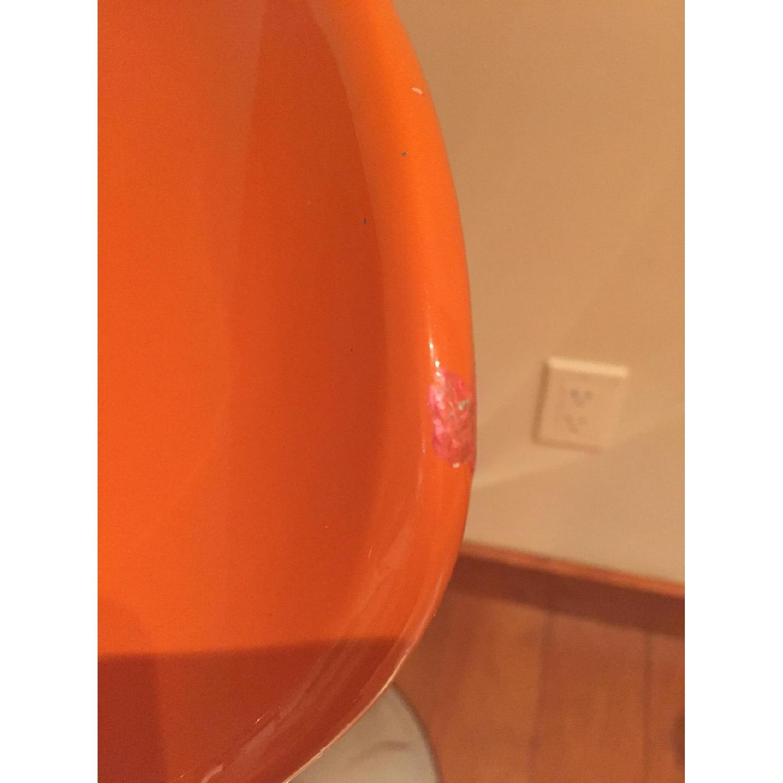 Adjustable Bar Stool in Orange - image-4