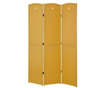 Legacy Decors 3 Panel Solid Wood Room Divider