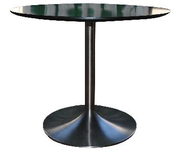 Room & Board Aria Black/Stainless Steel Dining Table