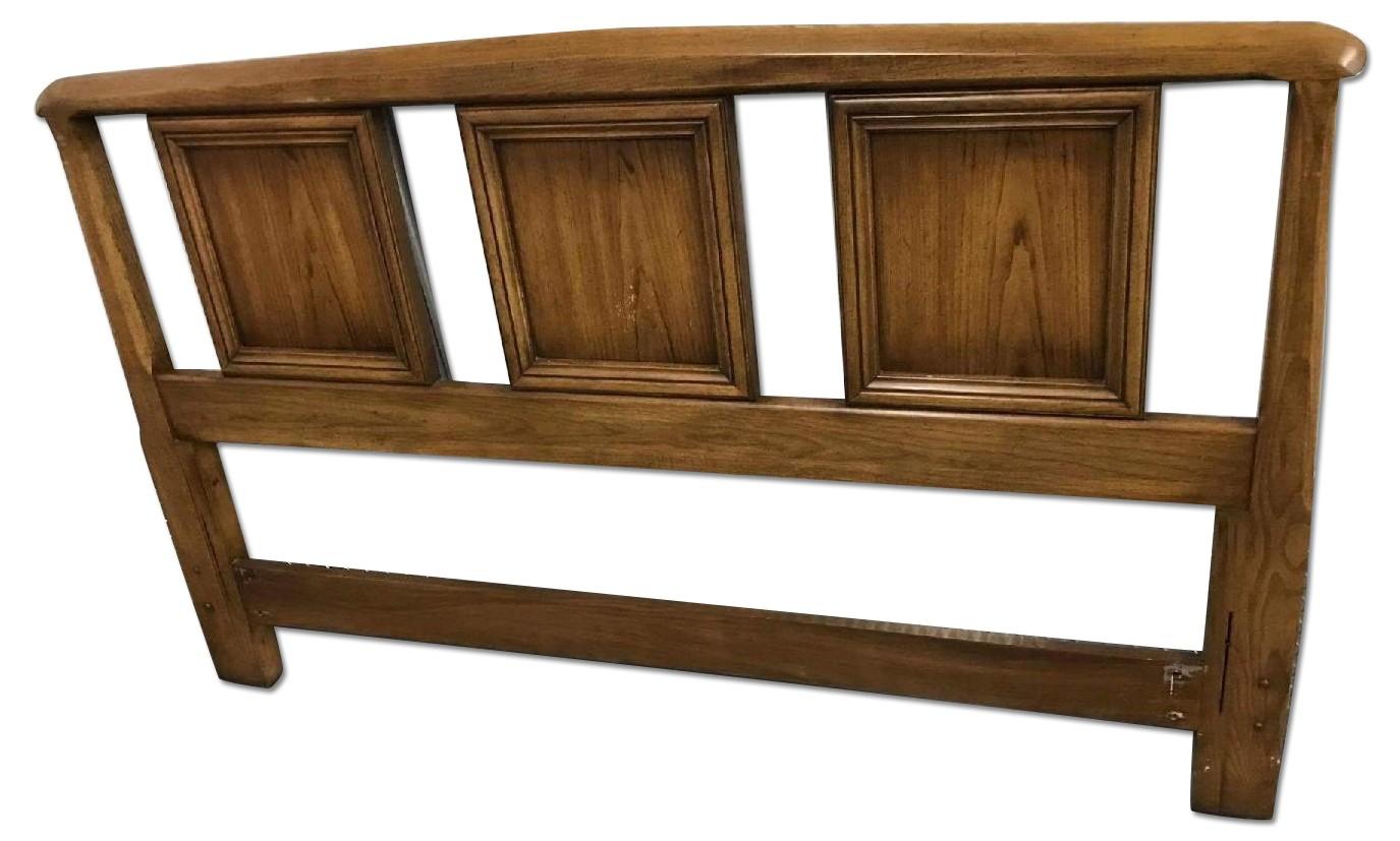 1960s Dixie Furniture Queen/Full Size Headbord