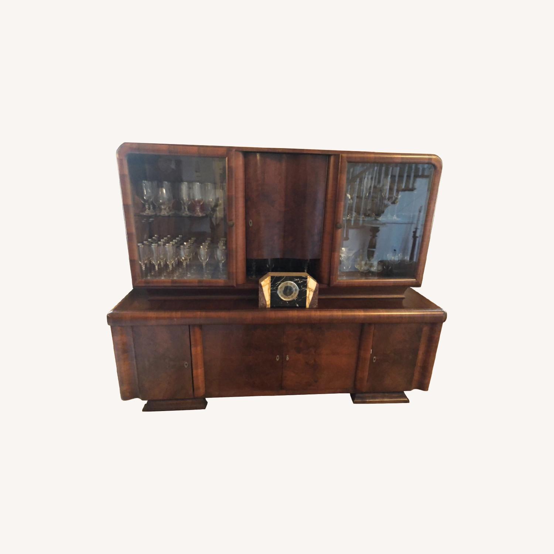 Art Deco Cabinet/ Breakfront - image-0