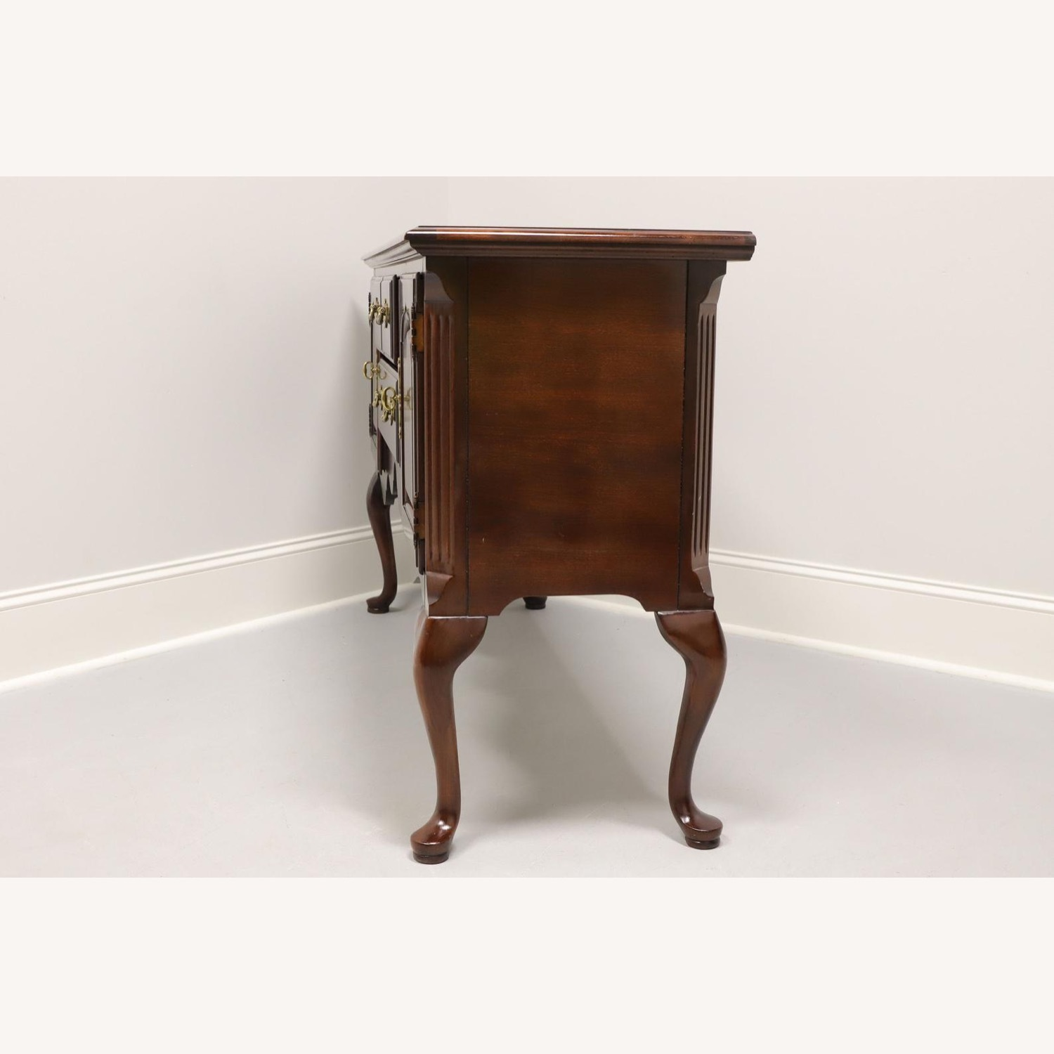 Queen Anne Cherry Sideboard - image-1