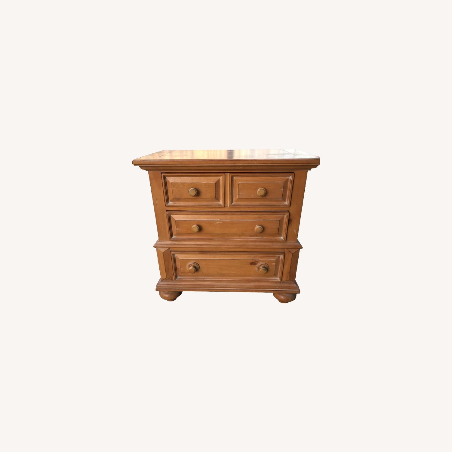 Broyhill Furniture Solid Wood Nightstand - image-0