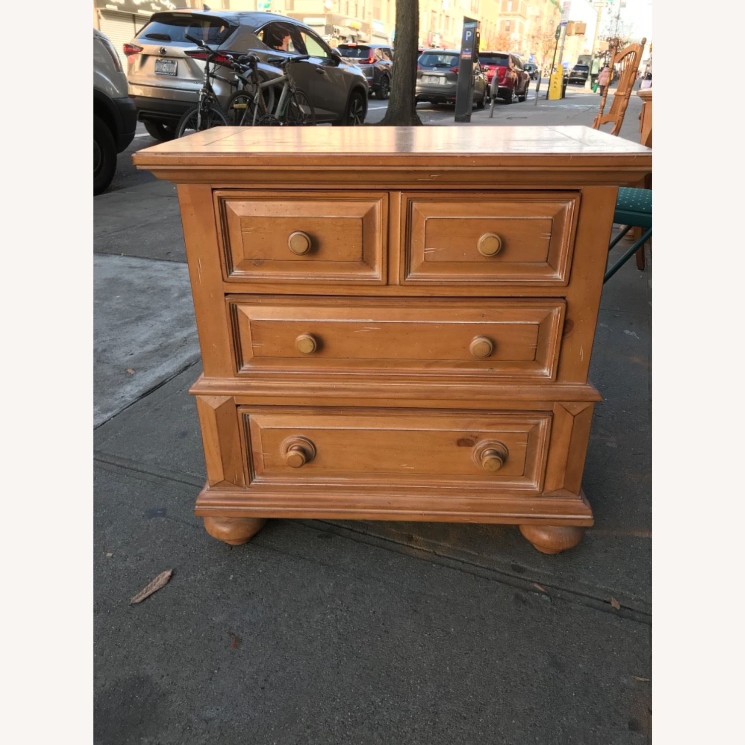 Broyhill Furniture Solid Wood Nightstand - image-1