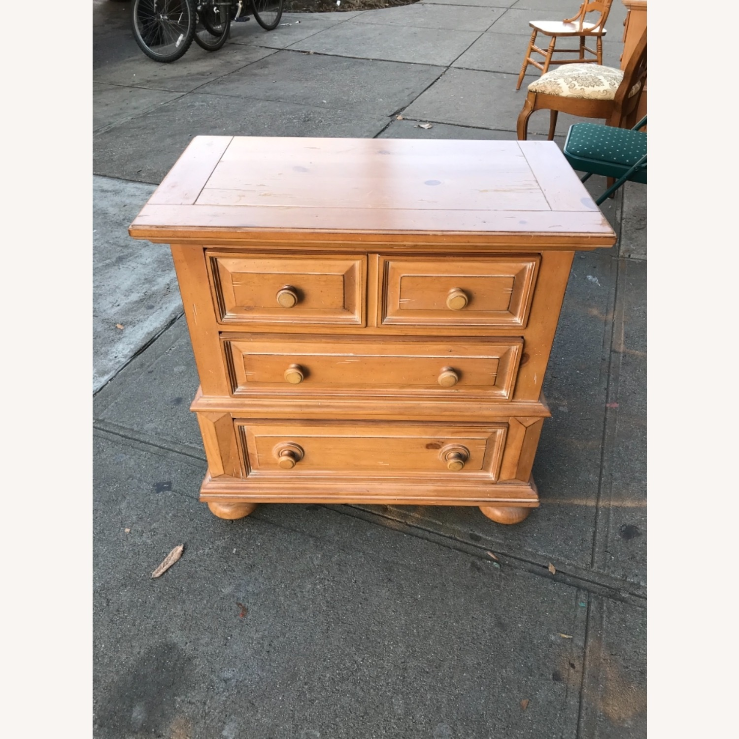 Broyhill Furniture Solid Wood Nightstand - image-2
