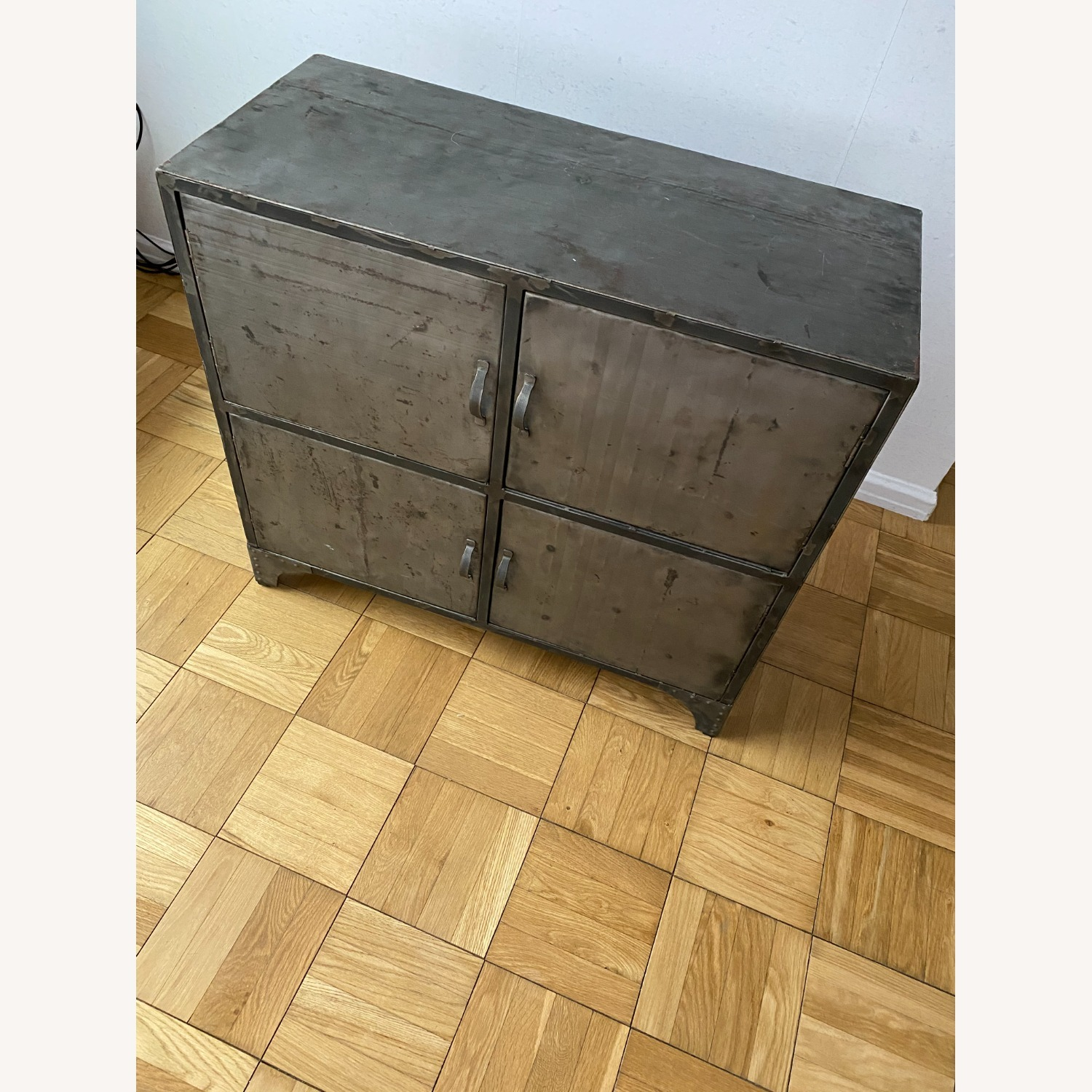 From The Source Recycled Oil Drum 4-Door Designer Cabinet - image-4