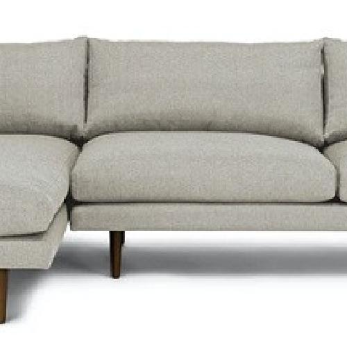 Used Article Sea Salt Gray Sectional with Chaise for sale on AptDeco