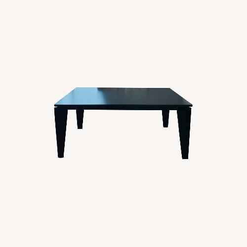 Used Lazzoni Extendable Dining Table Smoked Gray(6-8) for sale on AptDeco