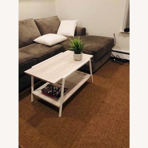Used Oriental Weavers 5x8 Tan/ Brown Area Rug for sale on AptDeco