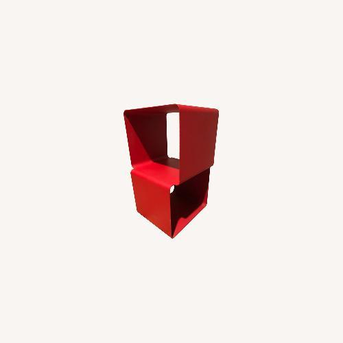Used MoMA Red Modern Shelves for sale on AptDeco