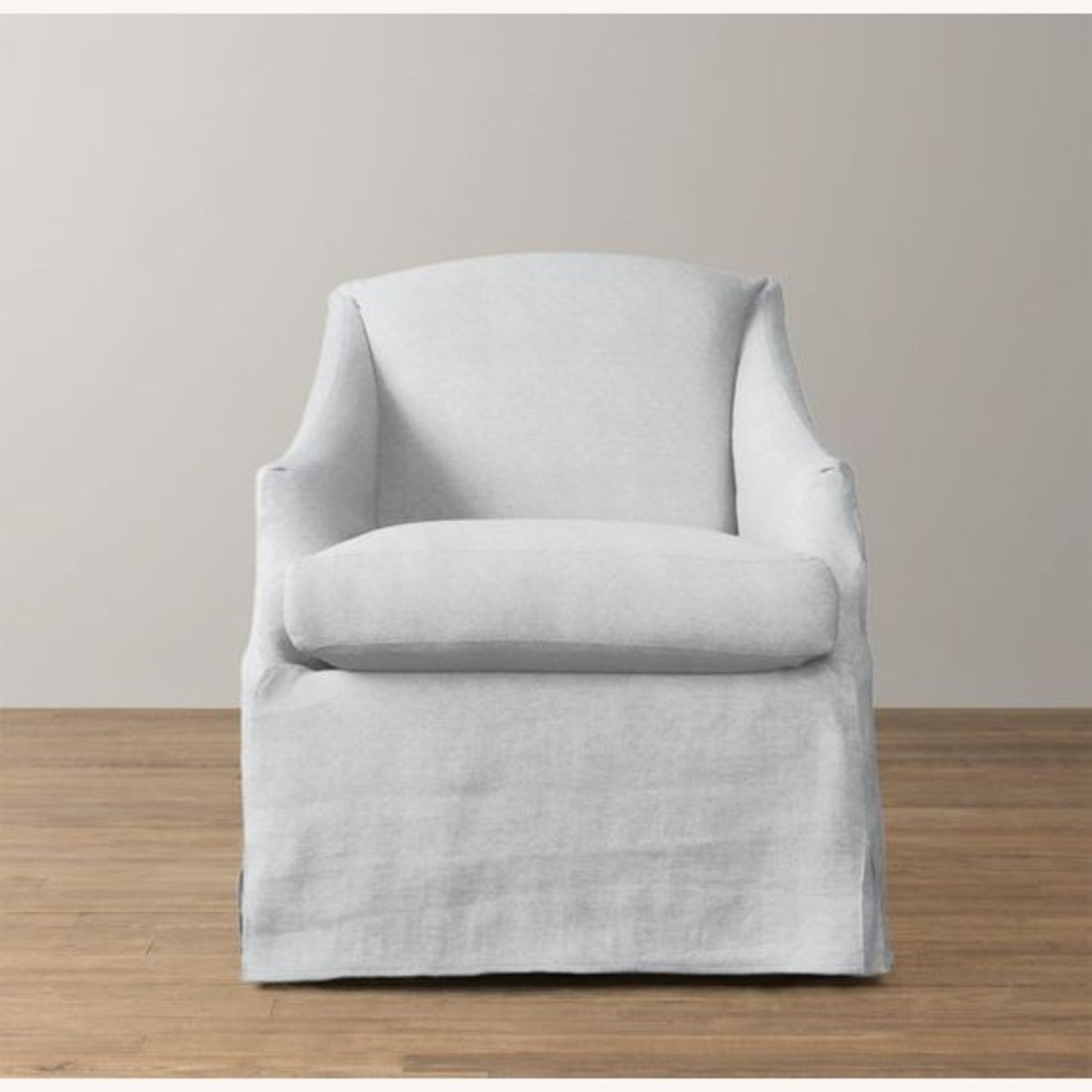 Restoration Hardware Slipcovered Swivel Glider - image-1