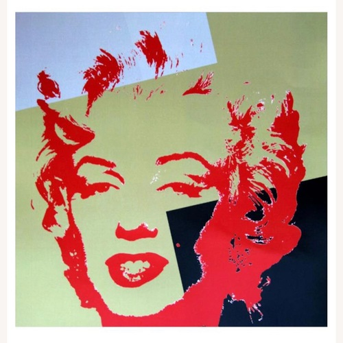 Used Andy Warhol Golden Marilyn 11.44 for sale on AptDeco