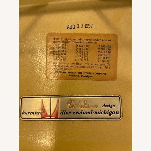 Used Herman Miller Eames Vintage 1957 Arm Shell Rocker for sale on AptDeco