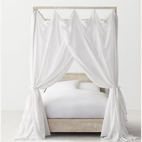 Used Restoration Hardware Canopy Callum Bed for sale on AptDeco