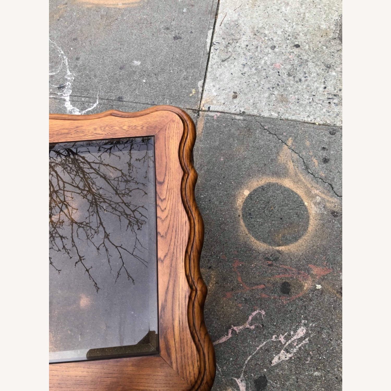 Palliser 1970s Wood & Beverly Glass Side Table - image-4