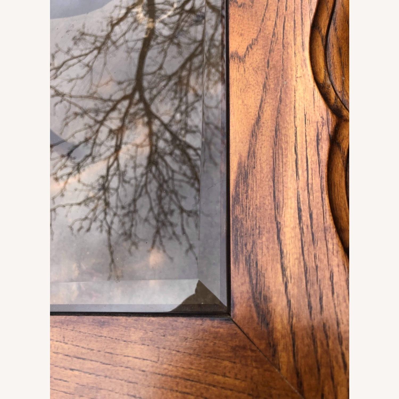 Palliser 1970s Wood & Beverly Glass Side Table - image-7