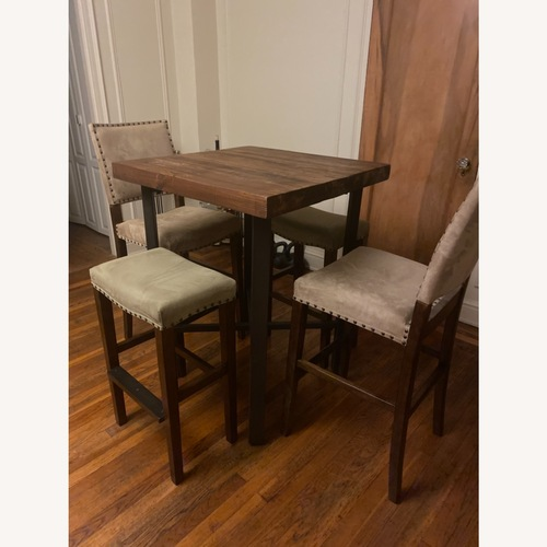 Used Pottery Barn Griffin Reclaimed Wood Table for sale on AptDeco
