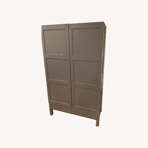 Used Crate and Barrel Bar Cabinet for sale on AptDeco