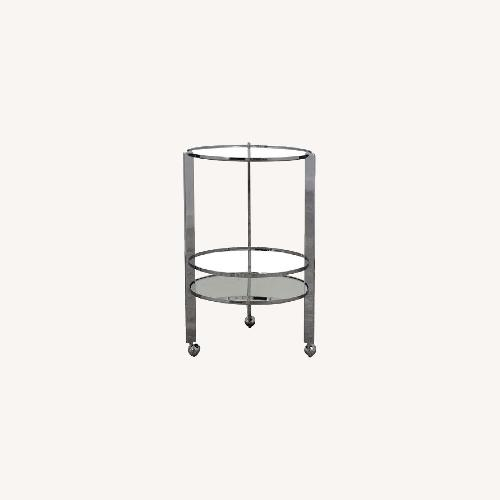 Used CB2 Barcart with Tray for sale on AptDeco