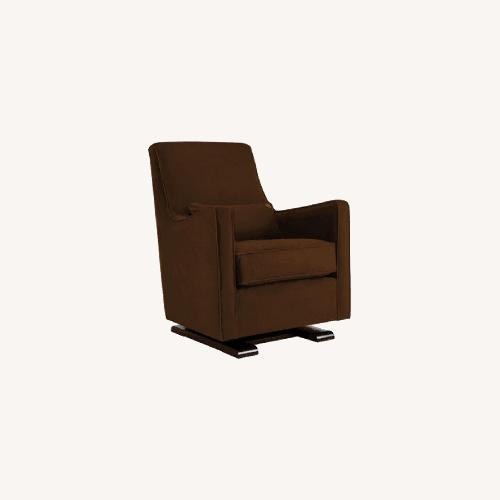 Used Brown Performance Microfiber Monte Luca Glider for sale on AptDeco
