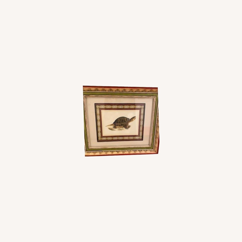 John-Richard Tortoise Prints Bful Wood Frame - image-0
